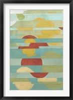 Non-Embellished Splice II Framed Print
