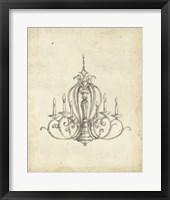 Framed Classical Chandelier I