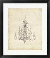 Framed Classical Chandelier IV