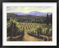 Framed Tuscany Vines