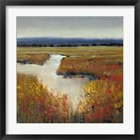 Marsh Land I Framed Print