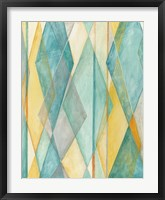 Diamond Illusion II Framed Print