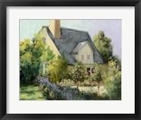 Framed Cotswold Cottage I