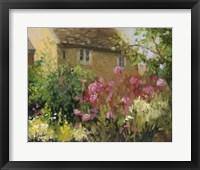 Framed Cotswold Cottage IV