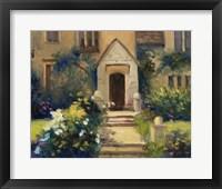 Framed Cotswold Cottage VII