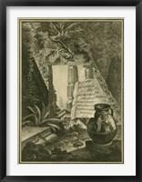 Grecian Tablet I Framed Print