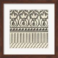 Framed Ornamental Tile Motif V