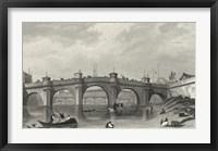 Framed Vue Du Pont Neuf