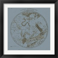 Framed Southern Circumpolar Map