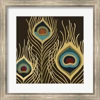 Framed Peacock Trilogy II