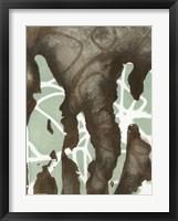 Silhouette Reversal I Framed Print