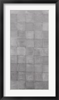 Non-Embellished Grey Scale I Framed Print