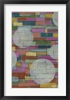 Dash, Dot I Framed Print