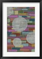 Dash, Dot II Framed Print