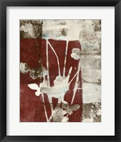 Rustic Blossoms II Framed Print