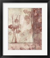 Framed Blossoms II Framed Print