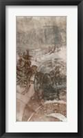 Layered Filigree I Framed Print