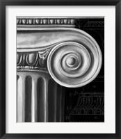 Ionic Capital Detail I Framed Print