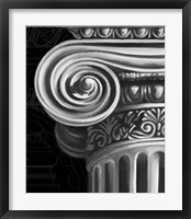 Ionic Capital Detail II Framed Print