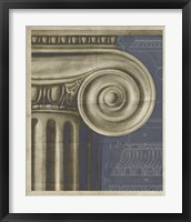 Ionic Architecture I Framed Print