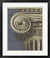 Ionic Architecture II Framed Print