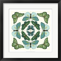 Butterfly Tile II Framed Print