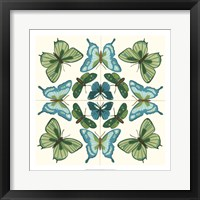 Butterfly Tile III Framed Print
