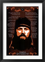 Framed Duck Dynasty - Jase