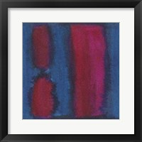 Indigo Meditation II Framed Print