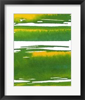 Saturated Spring I Framed Print