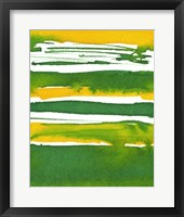 Saturated Spring II Framed Print