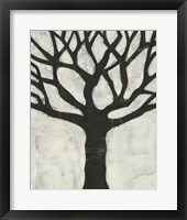 Batik Arbor I Framed Print