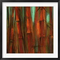 Framed Sunset Bamboo II