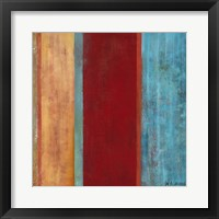 Framed Blue Comes Thru II