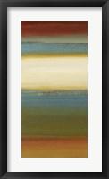 Framed Blue Sage I