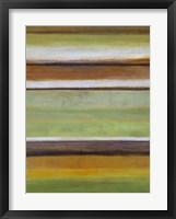Framed Peaceful Green III