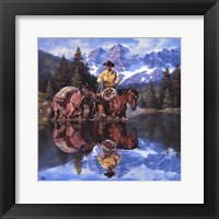 Framed Reflections of the Rockies