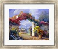 Framed Garden Peace