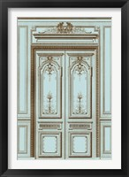 Framed French Salon Doors I