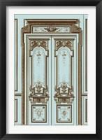 French Salon Doors II Framed Print