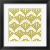 Framed Cottage Leaves I