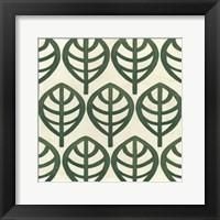 Cottage Leaves III Framed Print