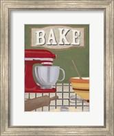 Framed Baker's Kitchen
