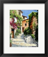 Framed In the Alpes-Maritime, Provence
