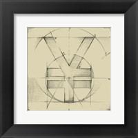 Framed Drafting Symbols IX