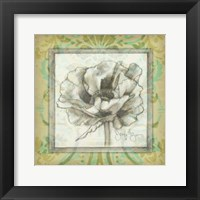 Framed Victorian Poppy II
