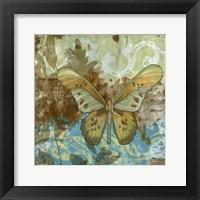Framed Rustic Butterfly II