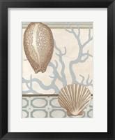 Coastal Tranquility I Framed Print