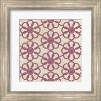 Framed Floral Trellis IV