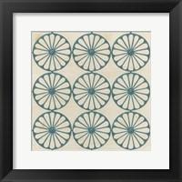 Floral Trellis V Framed Print
